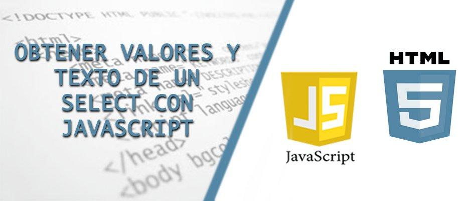 Obtener valores y texto de un select con Javascript - Hosting Nicaragua